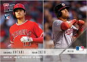 2018 TOPPS NOW 824 大谷翔平 OHTANI/JUAN SOTO NAMED AL AND NL ROOKIES OF THE MONTH