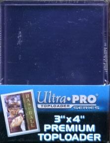 "#81145 ULTRA PRO 3 ""x 4"" PREMIUM TOP LOADER"