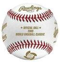 (仕様上の色にじみあり説明を確認ください)ローリングス社 2009年WBC ワールドべースボールクラシック 優勝記念球 RAWLINGS BASEBALL