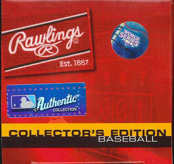 RAWLINGS 2009 ヤンキースワールド Series Champions commemorative ball normal version ( #WSBB09CHAMP )