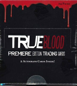 True blood TRUE BLOOD PREMIERE EDITION trading card BOX
