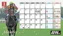 2017日刊競馬カレンダー(卓上タイプ・ケースなし)