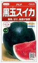 サカタのタネ スイカ タヒチ(黒スイカ) 約13粒【郵送対応...