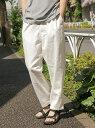 [Rakuten Fashion]【SALE/50%OFF】(M)M/NテーパードEASYPT niko and... ニコアンド パンツ/ジーンズ フルレングス ホワイト【RBA_E】