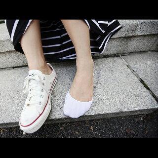 メール便送料無料!滑り止め付きフットカバーソックス【5月下旬頃】靴下パンプスソックス