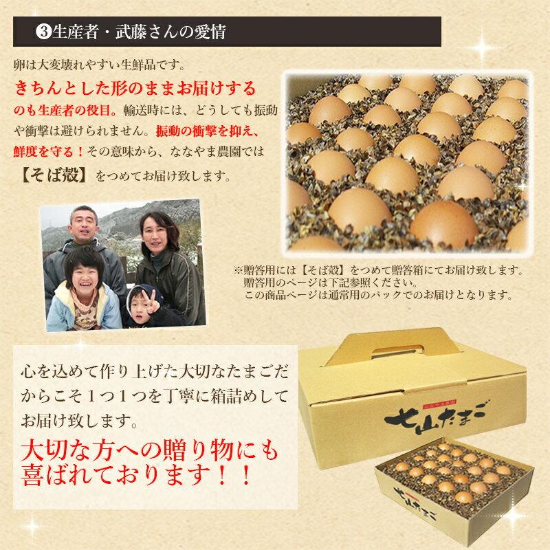 佐賀県産七山村の新鮮卵10個 七山たまご 濃厚...の紹介画像3