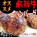 【送料無料】(冷凍)【まとめ買い!】飛騨牛ハンバー