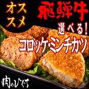 【組み合わせ自由】飛騨牛コロッケ&飛騨牛ミンチカツ・自由に組み合わせて6袋!