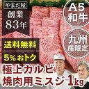 【ポイント5倍】九州産 黒毛和牛 A5ランク 極上赤身スライ...