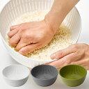米とぎにも使えるザルとボウル ザル ボウル セット レシピ付き /米研ぎ 米とぎ キッチン 耐熱 調理道具 ざる ボール セット 米とぎざる 国産 日本製 Colander&Bowl p01