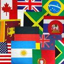 ■バンダナ(国旗)【応援 サッカー フィギュア スケート 野球オリンピック 世界 国旗 ブラジル 日本】
