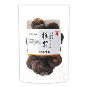 にんべん 食べるうまみチップス 【椎茸】15g <常温・O>