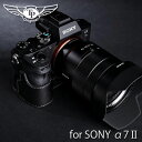 TP Original/ティーピー オリジナル Leather Camera Body Case レザーカメラボディケース for SONY α7SII/α7RII/α7II(用 オシャレ 本革 カメラケース EZ Series Black(ブラック) ILCE-7SM2 ILCE-7RM2 ILCE-7M2 532P26Feb16