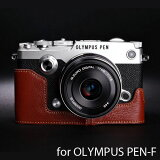 TP Original/�ƥ����ԡ� ���ꥸ�ʥ� Leather Camera Body Case �쥶�������ܥǥ������� for OLYMPUS PEN-F �ߥ顼�쥹��� �����ѥ� �ڥ� F�� ������� �ܳ� �쥶�� ����饱���� ®�̥����� EZ Series Brown(�֥饦��) 05P26Mar16