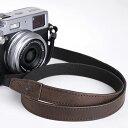 TP Original/ティーピー オリジナル Leather Camera Neck Strap 本革カメラネックストラップ TP-15 Dark Brown(ダークブラウン) レザー カメラストラップ おしゃれ ミラーレス一眼 クラシックカメラ