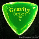 【現品限りの大特価】 Gravity Guitar Picks Striker Standard 6.0mm グリーン 【ゆうパケット対応可能】