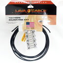 Lava Cable TightRope Solder Free Kit L字型プラグ 【即納可能】【ゆうパケット対応可能】
