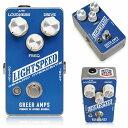 楽天エフェクター専門店 ナインボルトGreer Amps Lightspeed Organic Overdrive 【即納可能】【福袋対象商品】