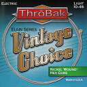 Throbak Electronics Vintage Choice Elgin Series Guitar Strings Nickel Wound / HE...