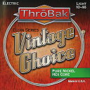 Throbak Electronics Vintage Choice Elgin Series Guitar Strings Pure Nickel / HEX...