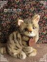 在庫限りで販売終了です。【キジトラ(子猫)おすまし ver.】リアルな猫のぬいぐるみ【日本製】【N-SE-C】【猫のぬいぐるみ】
