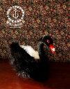 鳥 ぬいぐるみ リアル HANSA《黒鳥(コクチョウ)》【N-CN-B】【鳥のぬいぐるみ】【無料ラッ