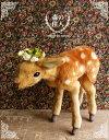 シカ ぬいぐるみ リアル HANSA《バンビ》【N-CN-A】【鹿(しか)のぬいぐるみ】無料ラッピング 誕生日 クリスマス プレゼント