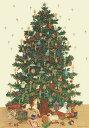 【イタリア製】 ポスター おしゃれ ヴィンテージ レトロ インテリア クリスマス 縦長 大きい ISTITUTO FOTOCROMO ITALIANO / I.F.I】 ポスター/ラッピングペーパー 50×70 ALBERO DI NATALE CR040
