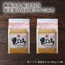 九州 福岡 醤油 調味料 老舗 ニビシ 古賀 味噌 みそ 麹 ニビシ醤油 里ごころ 減塩合わせ 500g×2