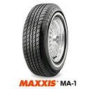 【法人宛送料無料】ホワイトリボンタイヤ P235/75R15 105S マキシス MA-1 MAXXIS White Ribbon MA1■2019年製■