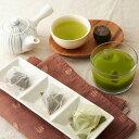 お茶 バラエティーセット 煎茶 ティーバッグ緑茶 ふんまつ緑茶 和紅茶 生姜紅茶 うまか茶 種子島松寿園 鹿児島県 日本茶 カテキン 茶葉 粉末 三角