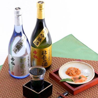 送料無料日本酒吟醸酒贈り物に選んだら、出世まちがいなし帝松出世酒セット720ml松岡醸造株式会社埼玉