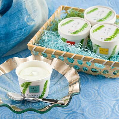 送料無料 アイス シャーベット アイスクリーム お取り寄せスイーツ sweets 海ぶどう 6個 セット 株式会社日本バイオテック