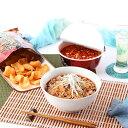 真っ赤なスープが食欲をそそる 勝浦タンタンメンセット
