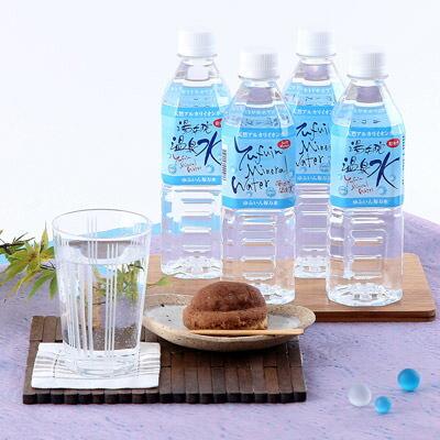 送料無料湯布院の自然が生んだ美味しい温泉水ゆふいん福万水(500ml×24本入り×2箱セット)