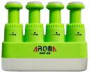 【送料無料・郵便】AROMA アロマ AHF-03/GR(緑) 握力強化 ハンドエクササイザー