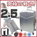 スーツケース 超軽量モデル 中型 Mサイズ TSA搭載 Wキャスター プロセアファスナー 名入れ可能 プレゼント 記念日 誕生日に最適