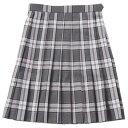 ベンクーガー スクールスカート (ベージュ×ピンク チェック・5351)