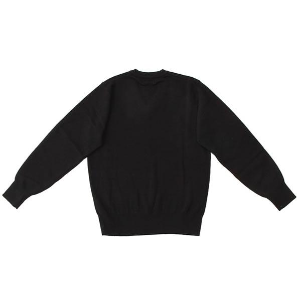 セーター アクリルウール (ブラック・ポイント...の紹介画像3