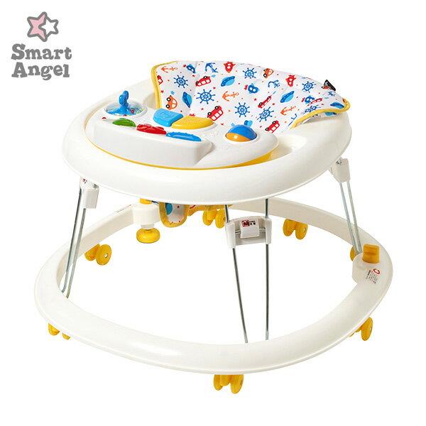 送料無料SmartAngel)Gウォーカーデラックス歩行器[ベビー赤ちゃんおもちゃ乳児1歳ベビーウォ