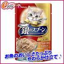 ユニ・チャーム 銀のスプ-ンパウチまぐろ・かつおにささみ60g (猫用 フード キャットフード )