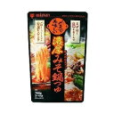 ミツカン 〆まで美味しい濃厚みそ鍋つゆ ストレート ( 750g )