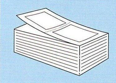 【SATO純正】PDラベル標準 白無地 強粘 【C縦 折】【・送料無料】