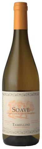 ソアヴェ タメリーニ [2015]あの辛口ワイン批評で有名なワインスペクテーター誌で、パーカーポイント90点を獲得!!イタリア ヴェネト州で造られるデイリーワイン代表ソアーヴェとしては異例の、高評価、高得点を叩きだしたんです!【コクの辛口白】
