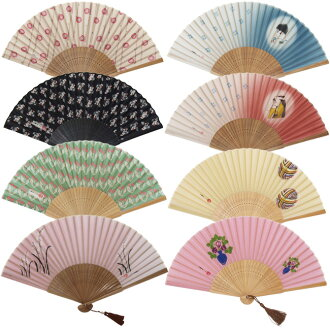 Takehisa yumeji silk 100% fan / gift will enjoy!