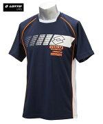 パジャマ 大きいサイズ カジュアル メンズ ロット DRYメッシュロゴプリント Tシャツ リラックス ゴールド/ネイビー 6L/8L ニッセン