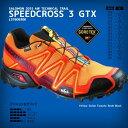 40%OFF★2015年モデル【サロモン】SPEEDCROSS 3 GTX[L37609300]Yellow Gold×Tomato Red×Black【201...