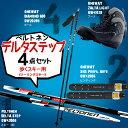 歩くスキー4点セット『Peltonenデルタステップ』