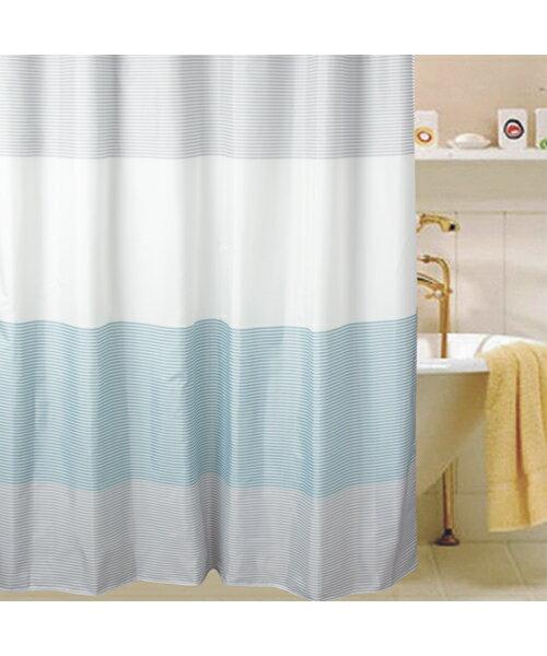 シャワーカーテン(ボーダーTBL)