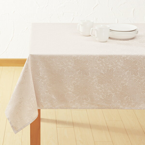 テーブルクロス(ロシェ BE 130x220) ニトリ 【玄関先迄納品】